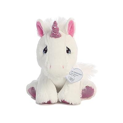 "Aurora - Precious Moments - 8.5"" Sparkle Unicorn: Toys & Games"