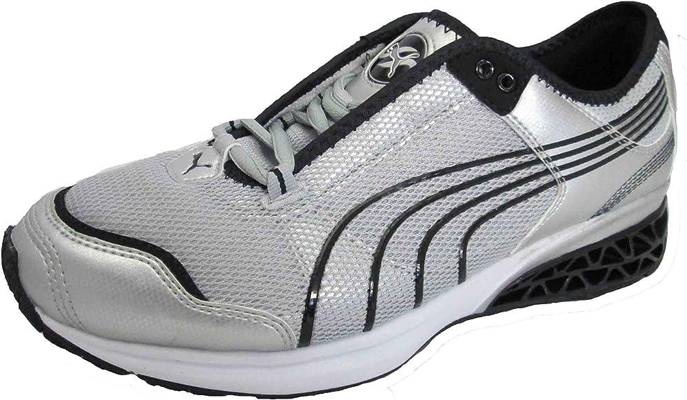 Caducado biblioteca Biblioteca troncal  Puma Cell Cerae 18267704 Silver Black (UK 7 EU 40.5): Amazon.co.uk: Shoes &  Bags