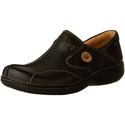Clarks Unstructured Women's Un.Loop Slip-On Shoe | Ankle & Bootie