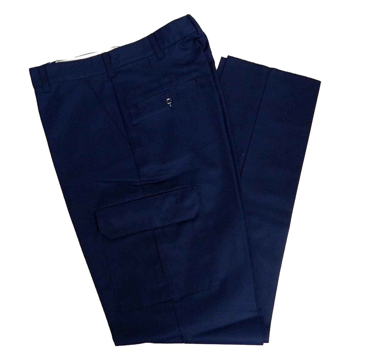 Solar 1 Clothing MP88 Industrial Cargo Work Pants 50X37U MP88BK50X37U Black
