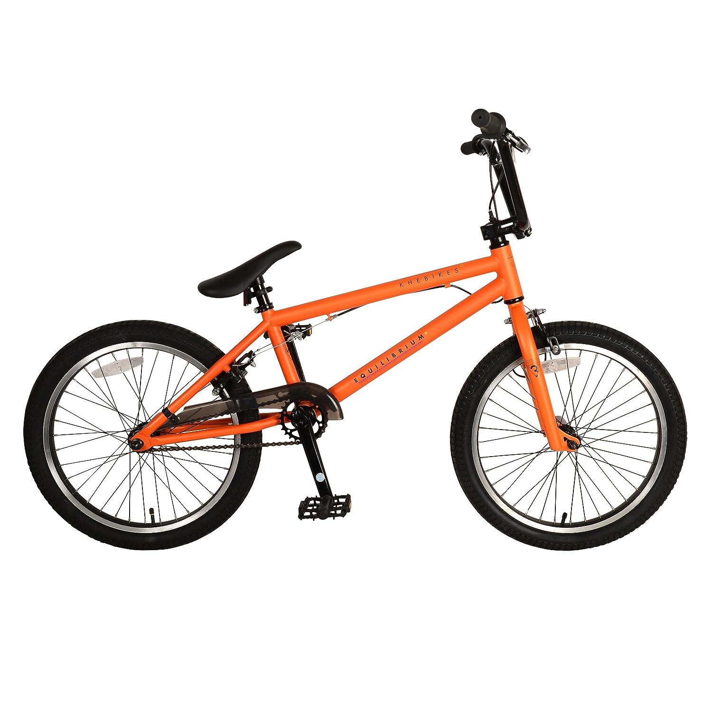 Amazon.com : KHE Bikes Equilibrium 3 BMX Bicycle, Matte Orange ...