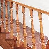 BTSKY Red de protección para niños en balcones y escaleras, impermeable, ajustable, valla de malla de seguridad Talla:3 M