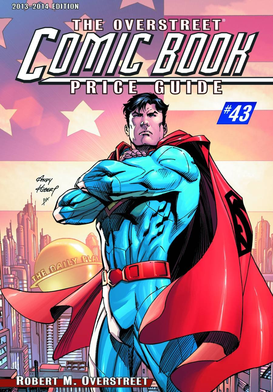 Overstreet Comic Book Price Guide VOL 43 Superman Edition 2013: Amazon.com:  Books