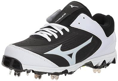 b7ebcae85c73 Mizuno Women's Swift 5 Fastpitch Cleat Softball Shoe, Black/White, ...