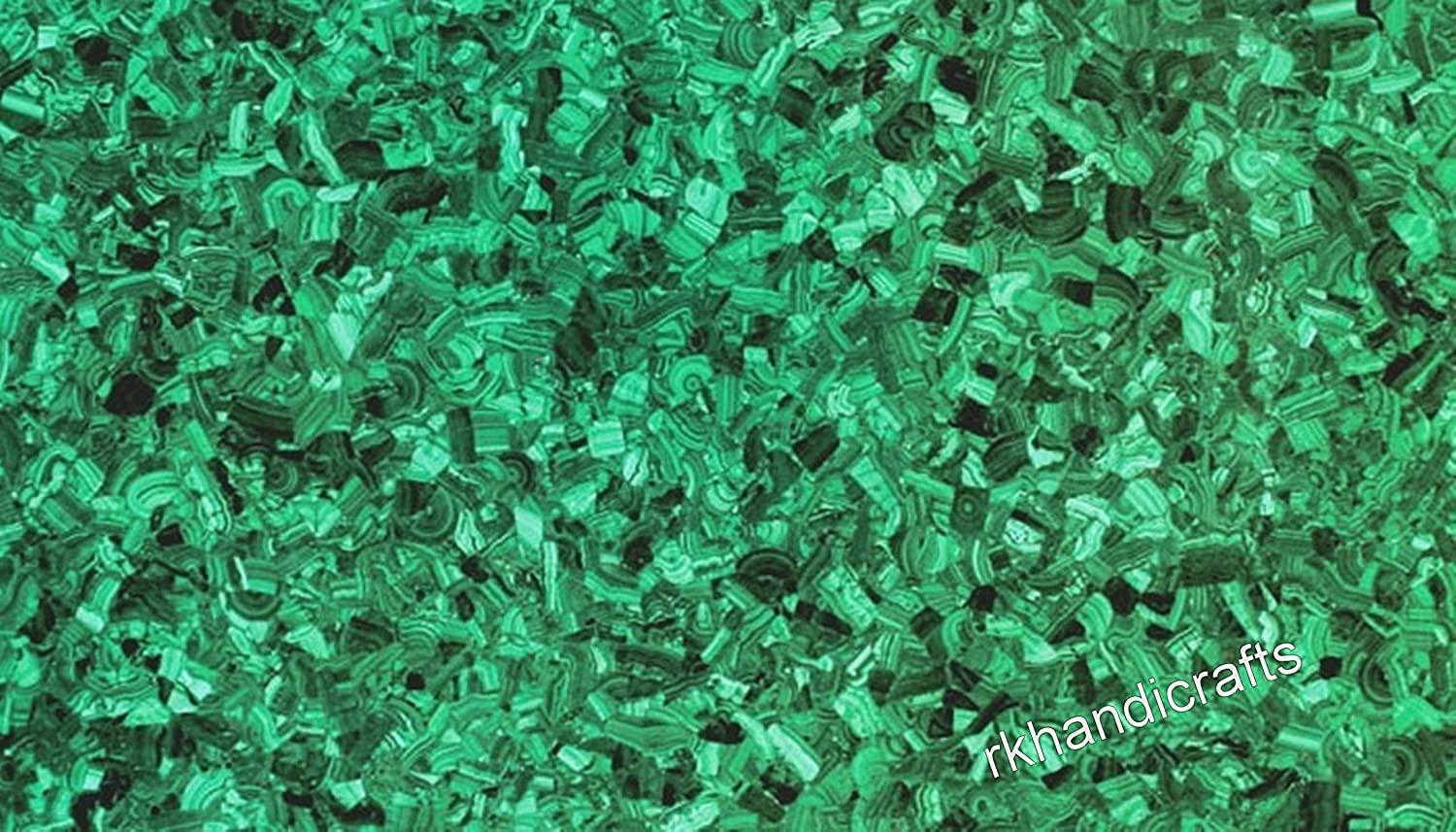 36 x 48 Inches Rectangle Shape Malachite Gemstones Coffee Table Top Random Work Perfect Dining Room Furniture
