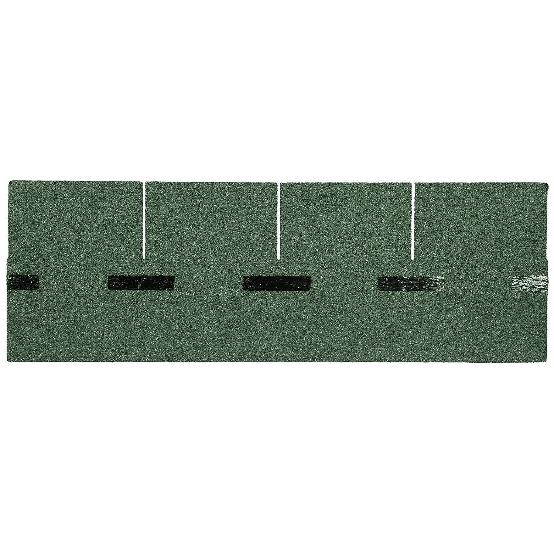 BITUWELL Bitumenschindeln Rechteck Gr/ün Deckfl/äche 1,99 m/²