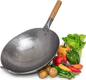 Chef's Medal Carbon Steel Woks