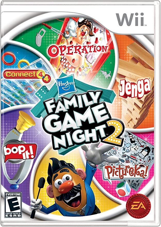 Hasbro Family Game Night 2 - Nintendo Wii by Electronic Arts: Amazon.es: Videojuegos
