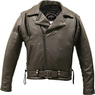 product image for American Bison Vented Biker Jacket (60)