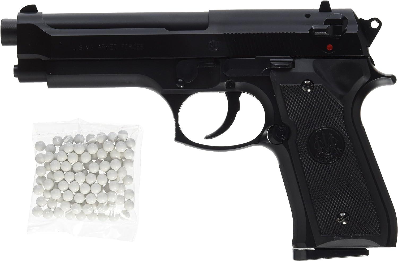 BERETTA M9 World Defender Pistola Softair < 0,5 Joule, Taglia Unica, Colore: Nero