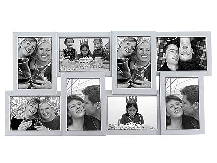 Present Time Marco para varias fotos, diseño en relieve, color ...