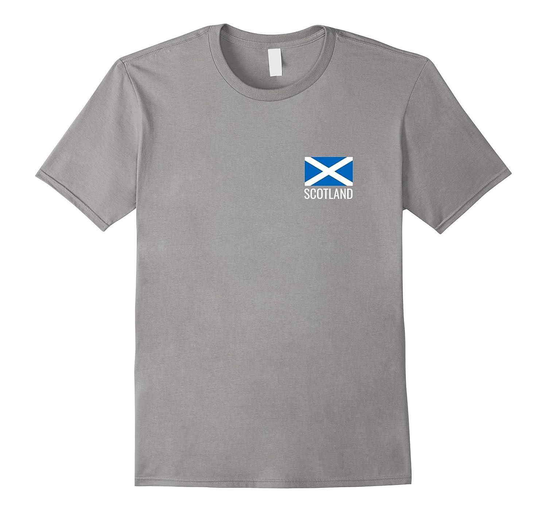 Scotland flag Tshirt - Scottish flag football T-Shirt-Art