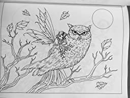 review image review image - Fantasy Coloring Book