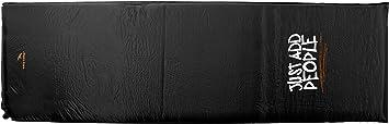 Easy Camp Single Siesta-Esterilla autoinflable, Color Negro, 3 cm, Unisex Adulto