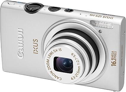 Canon Ixus 125 Hs Digitalkamera 3 Zoll Silber Kamera