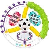 サッシー(Sassy) ワンダーホイール・ハンドラトル 赤ちゃんおもちゃ(0ヶ月から対象) 知育玩具 ラトル  TYSA80652