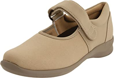 Aetrex Women's Helen Stretch Mary Jane,Taupe,5 ...