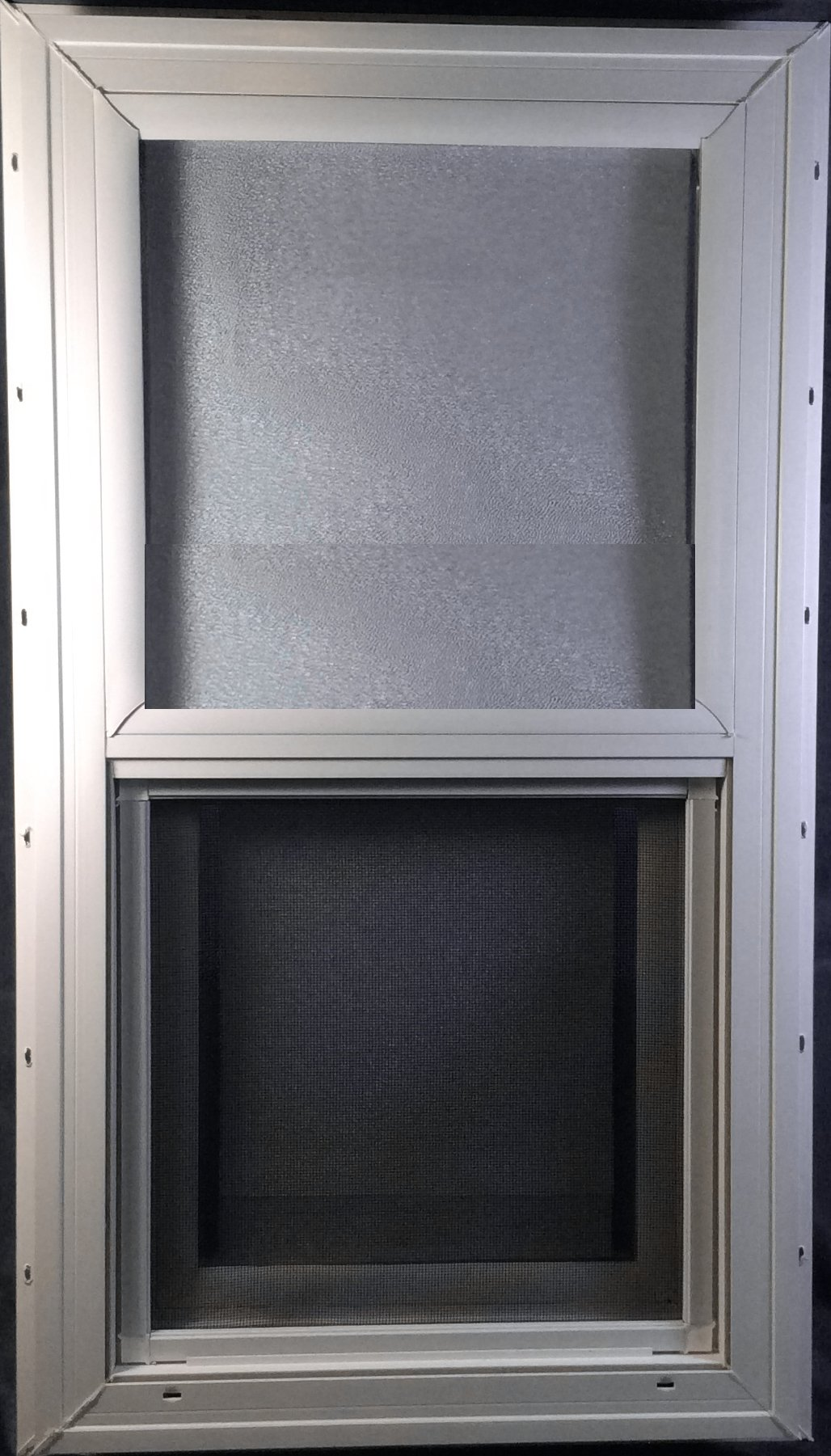 Mobile Home Window 14X27 Insulated Vinyl Thermopane Lower Tilt Sash Screen Included by Kinro