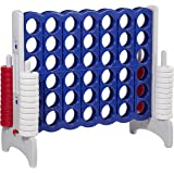 ECR4Kids Jumbo 4-to-Score Giant Game Set, Backyard Games for Kids, Indoor/Outdoor Connect-All-4, Adult and Family Fun Game, 4