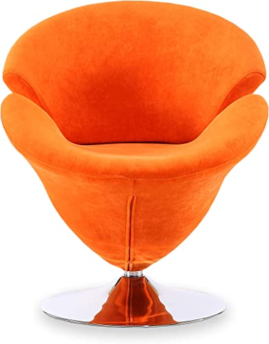 Ceets Accent Swivel Velvet Tulip Chair
