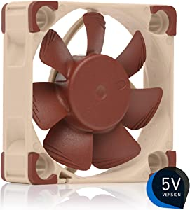 Noctua NF-A4x10 5V, Premium Quiet Fan, 3-Pin, 5V Version (40x10mm, Brown)
