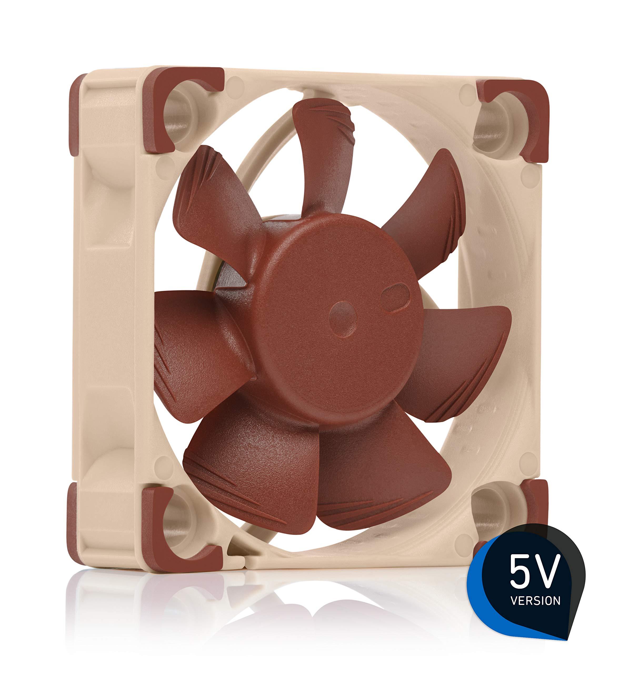 Noctua NF-A4x10 5V, Premium Quiet Fan, 3-Pin, 5V Version (40x10mm, Brown) by NOCTUA