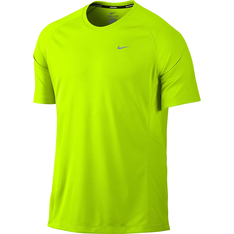 5276834fd2 Nike Miler SS UV (Team) - Camiseta para hombre  Amazon.es  Deportes y aire  libre