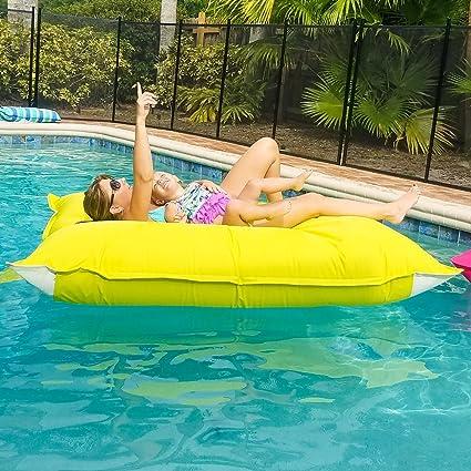 Amazon.com: Sundale Outdoor Luxury Inflatable Swimming Pool Float ...