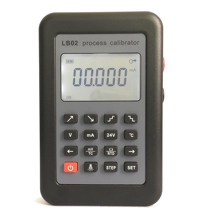 isunking LB02courant résistance voltmètre Générateur de signal Source processus Calibrateur 4–20mA/0–10V/MV Écran LCD Mise à jour de LB01
