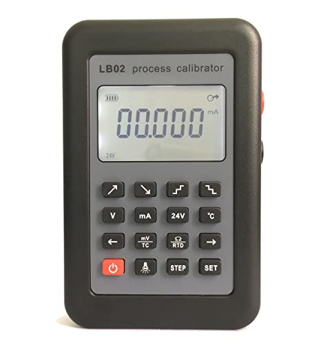 T-king(TM) LB02 Resistance Current Voltmeter signal generator source Process calibrator 4-20mA/0-10V/mV LCD display Update from LB01 Home Improvement Tools & Testers at amazon