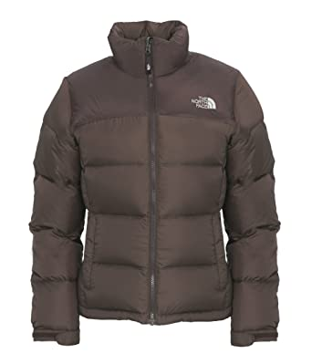 fdeb45d57483 THE NORTH FACE Womens Nuptse Classic Jacket - Brunette Brown Large   Amazon.co.uk  Clothing