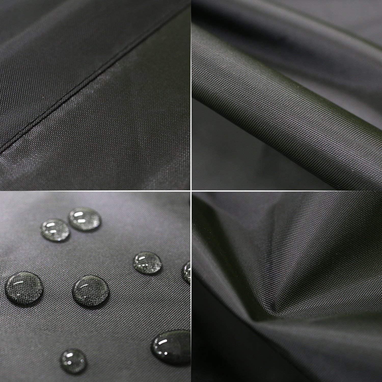 Fundas Muebles Jardin Silla Cubierta de Exterior Funda 420D Oxford Rectangular Cubierta Protectora Exterior Impermeable para Mesa 200x160x70cm Servicio Pesado Resistente a La Rotura