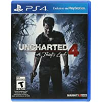 Uncharted 4: A Thief's End by Naughty Dog for PlayStation 4 - NTSC, Region 1