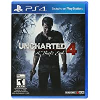 Uncharted 4: A Thief's End - PlayStation 4 - Standard Edition