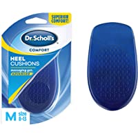 Dr. Scholl's HEEL CUSHIONS with Massaging Gel Advanced // All-Day Shock Absorption and Cushioning to Relieve Heel Discomfort (for Men's 8-13, also available for Women's 6-10)