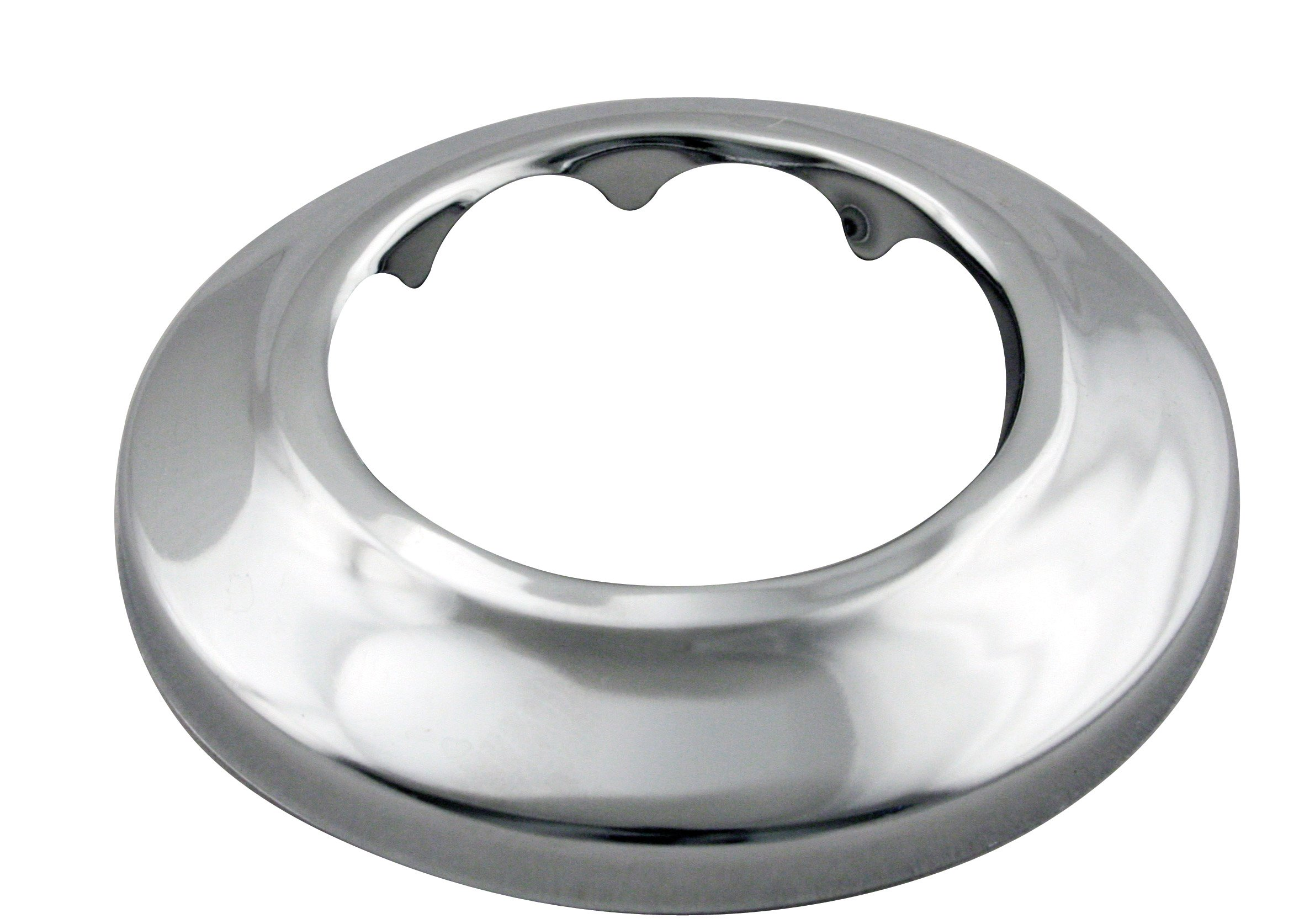 WestBrass D407 Polished Chrome 1-1/2 in. IPS Low Profile Sure Grip Flange