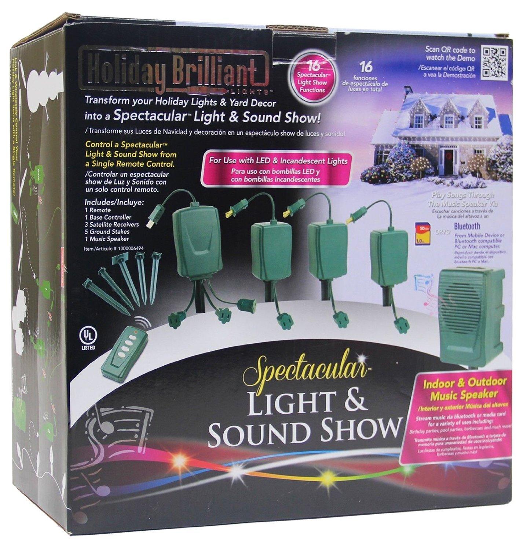 Amazon.com: Bluetooth Christmas Holiday Spectacular Light & Sound ...