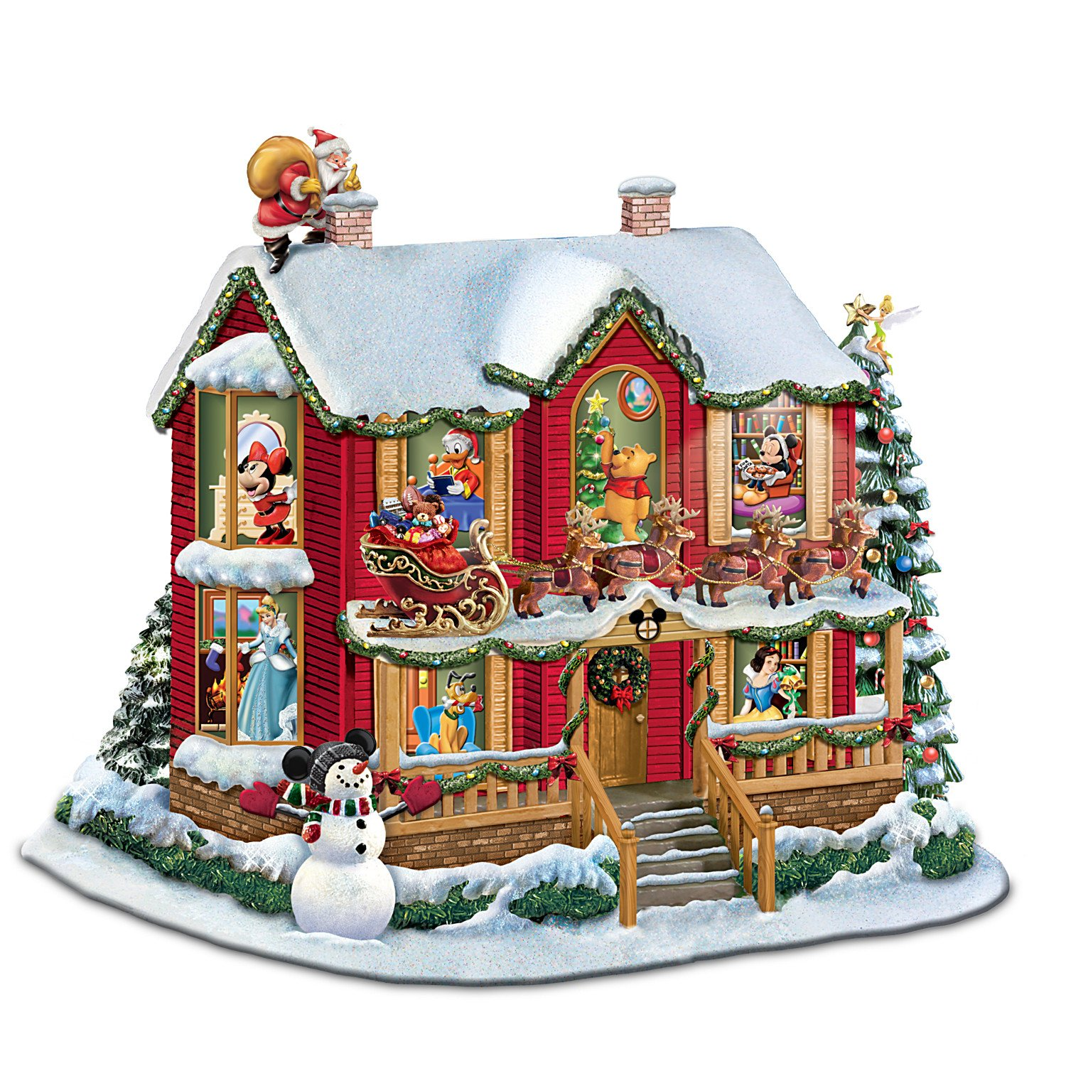amazon com disney twas the night before christmas sculpture by
