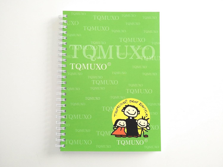 Pack de 5 libretas Tqmuxo DON BOSCO Tamaño A5: Amazon.es: Oficina ...