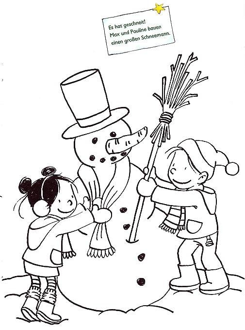 ATLANTA Niños Reloj Despertador para niño Azul + Libro para Colorear Navidad + lápices de 1936 - 5 Bubs: Amazon.es: Juguetes y juegos