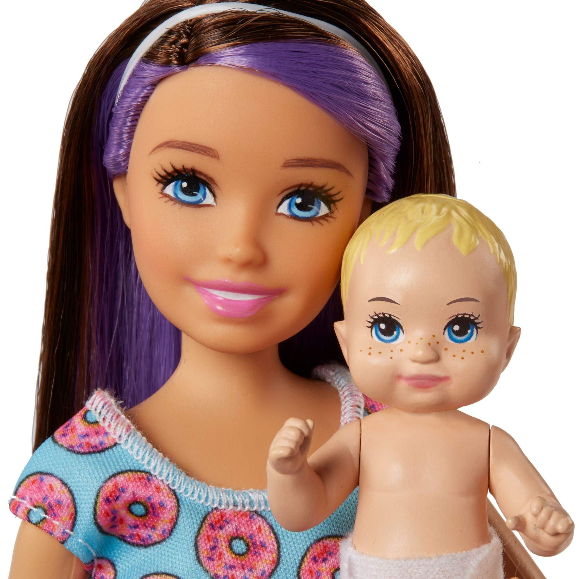 Barbie Skipper Babysitters Inc Doll And Feeding Playset Toys