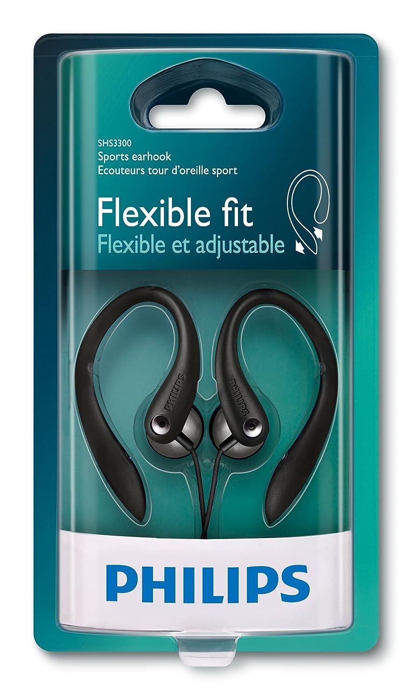 Color Negro Auriculares Deportivos Philips SHS3300BK//10