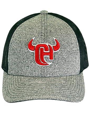 6f023791cbd896 Amazon.com: Men's Cowboy Hardware Grey 3D Logo Trucker Cap Grey One Size:  Clothing