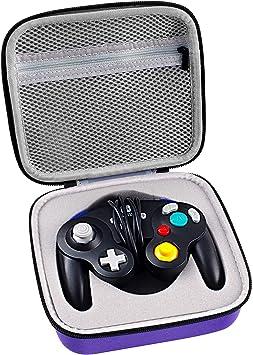 Funda compatible con PowerA Wired/Wireless Controller para Nintendo Switch – Gamecube(Purple): Amazon.es: Electrónica