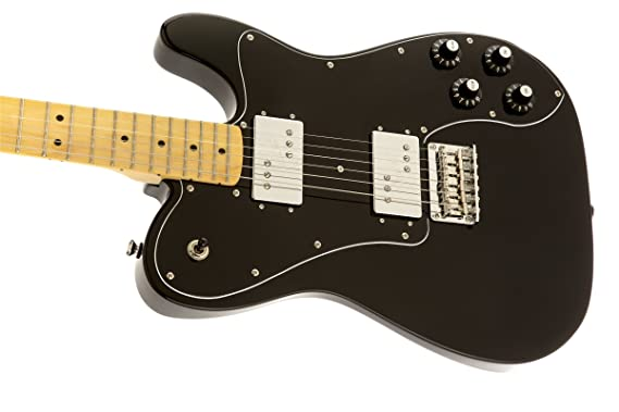 Squier Vintage Modified Tele Deluxe BLK · Guitarra eléctrica: Amazon.es: Instrumentos musicales