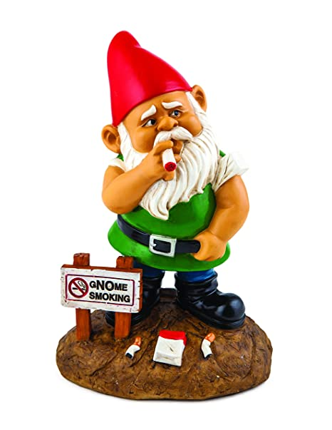 BigMouth Inc The gNOme Smoking Garden Gnome Amazon.in