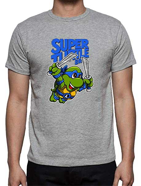 The Fan Tee Camiseta de Hombre Tortugas Ninja Miguel Angel ...