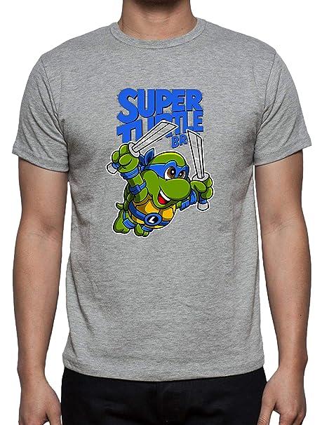 The Fan Tee Camiseta de Hombre Tortugas Ninja Miguel Angel ...