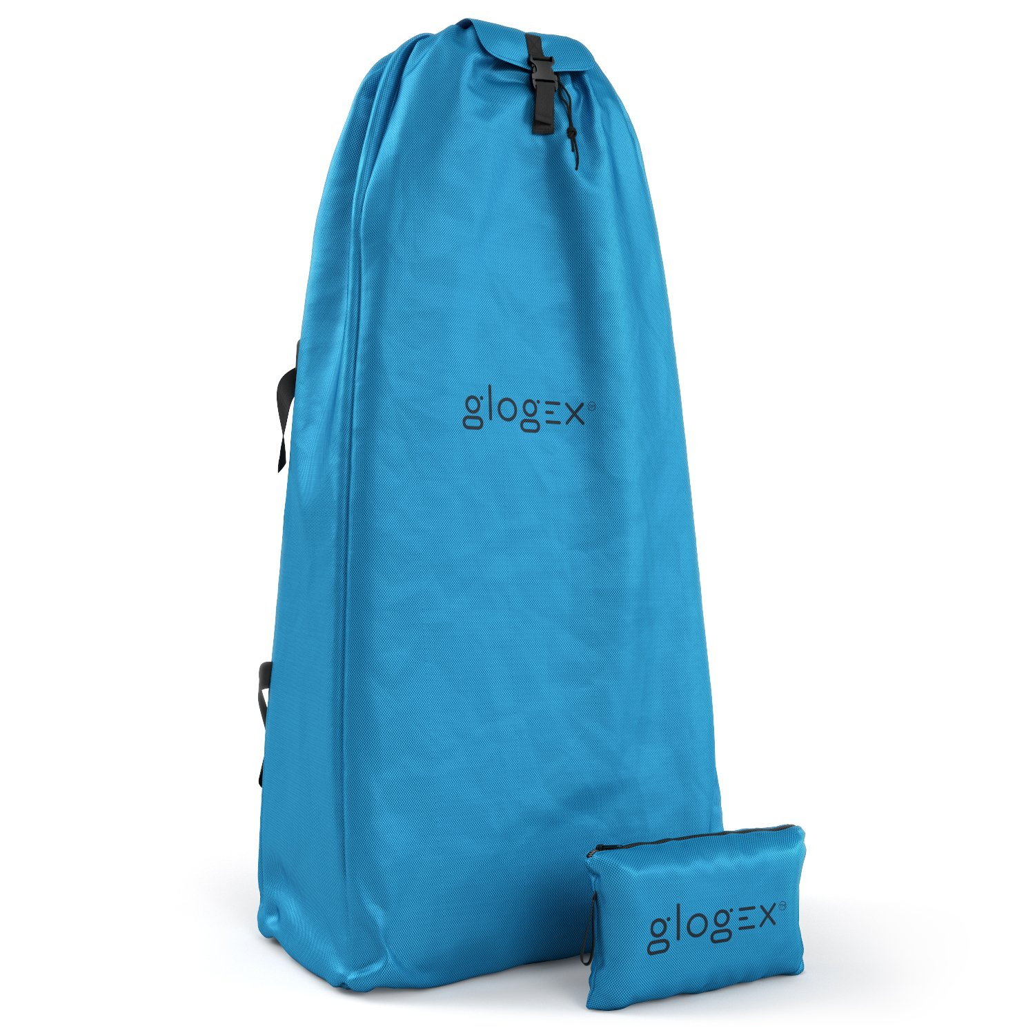 Glogex The Stroller Bag for Airplane - Convenient Gate Check Bag for Stroller - Lightweight, Waterproof, Carry Strap, Easy to Transport