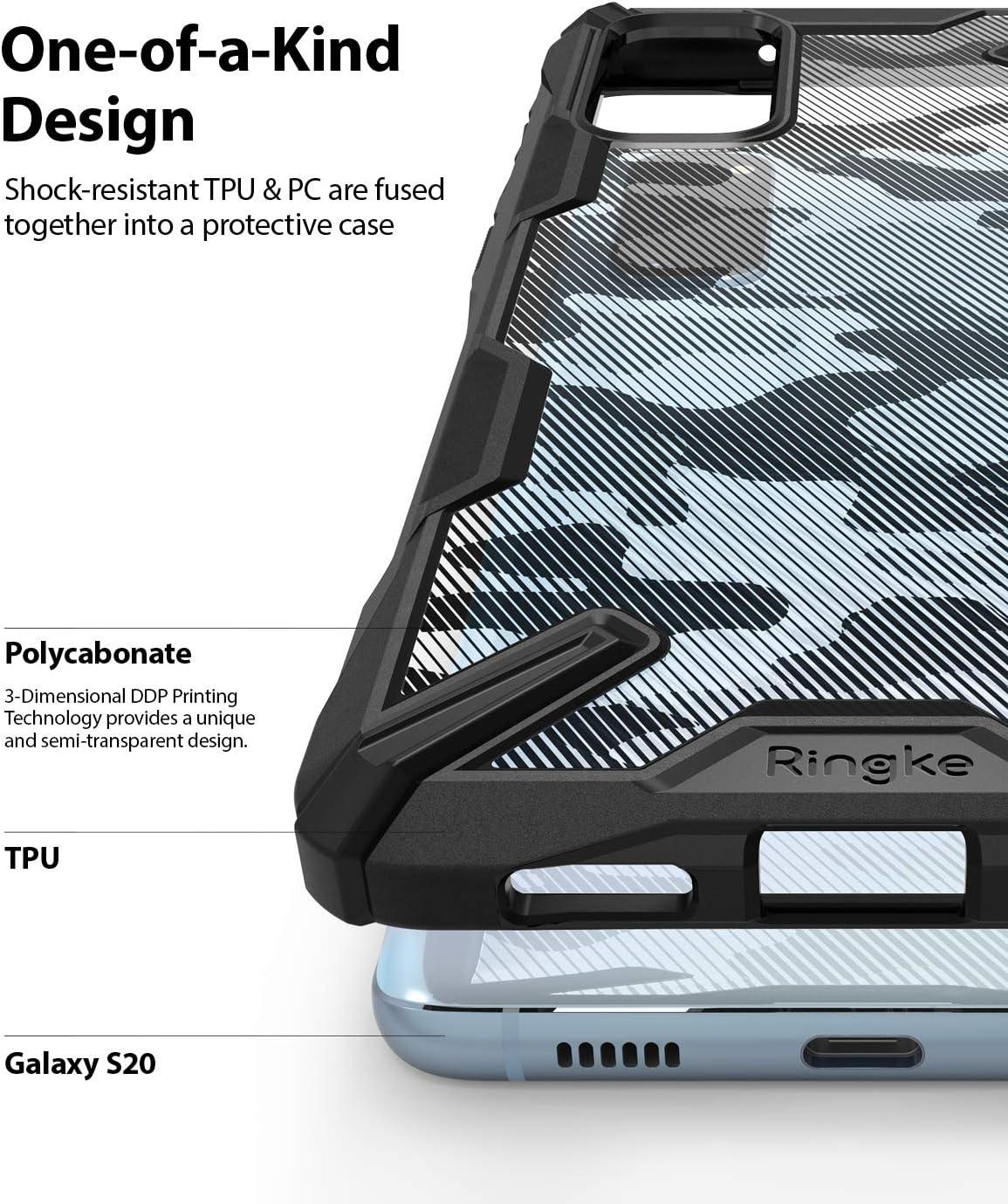 Ringke Fusion X Ddp For Galaxy S20 Case Hand Strap Elektronik
